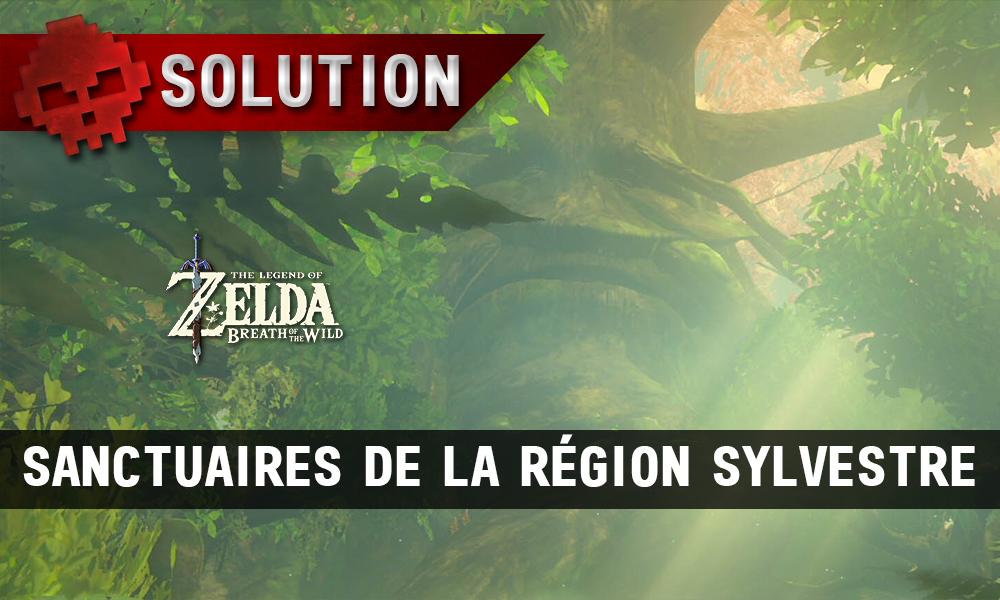 Soluce complète de Zelda Breath of the Wild sylvestre