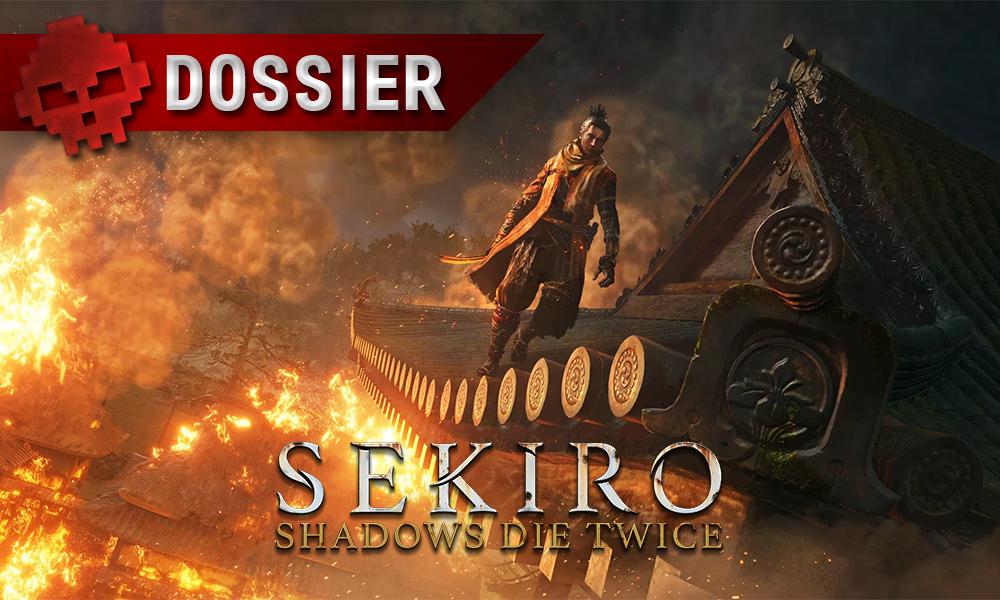 Sekiro shadows die twice vignette logo