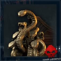 Figure de proue Serpent