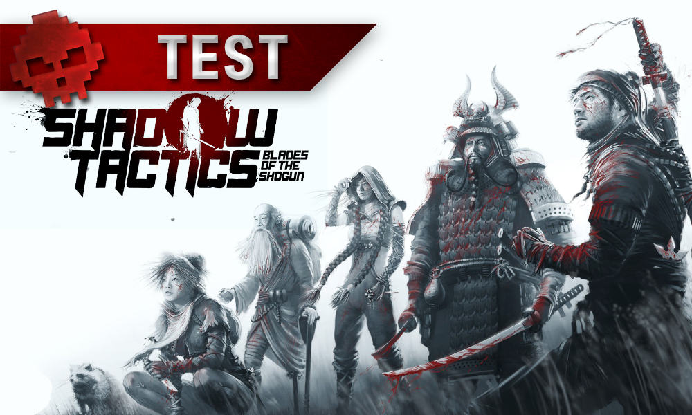 Test Shadow Tactics: Blades of the Shogun personnages