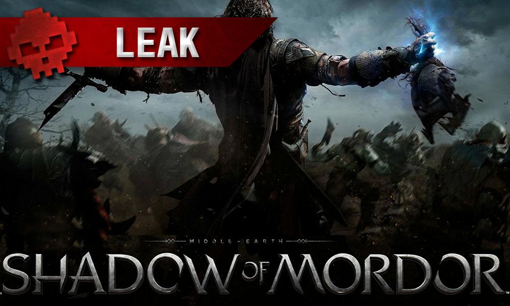 Shadow of Mordor - La suite se confirme via une fuite Logo + héros tenant son trophée de guerre