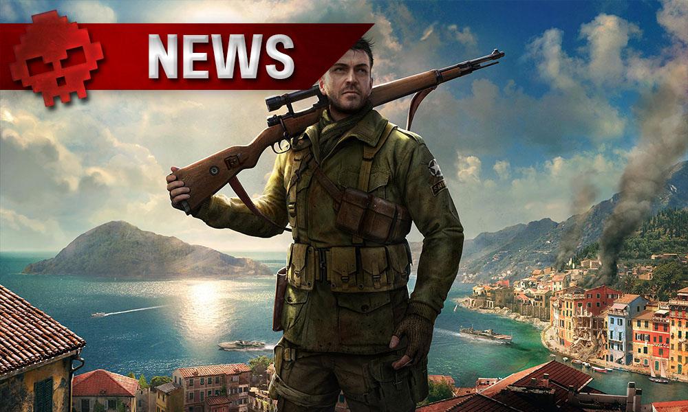 Sniper Elite 4 - Un peu de gameplay sanglant avant la sortie Sniper sur le toit avec son arme