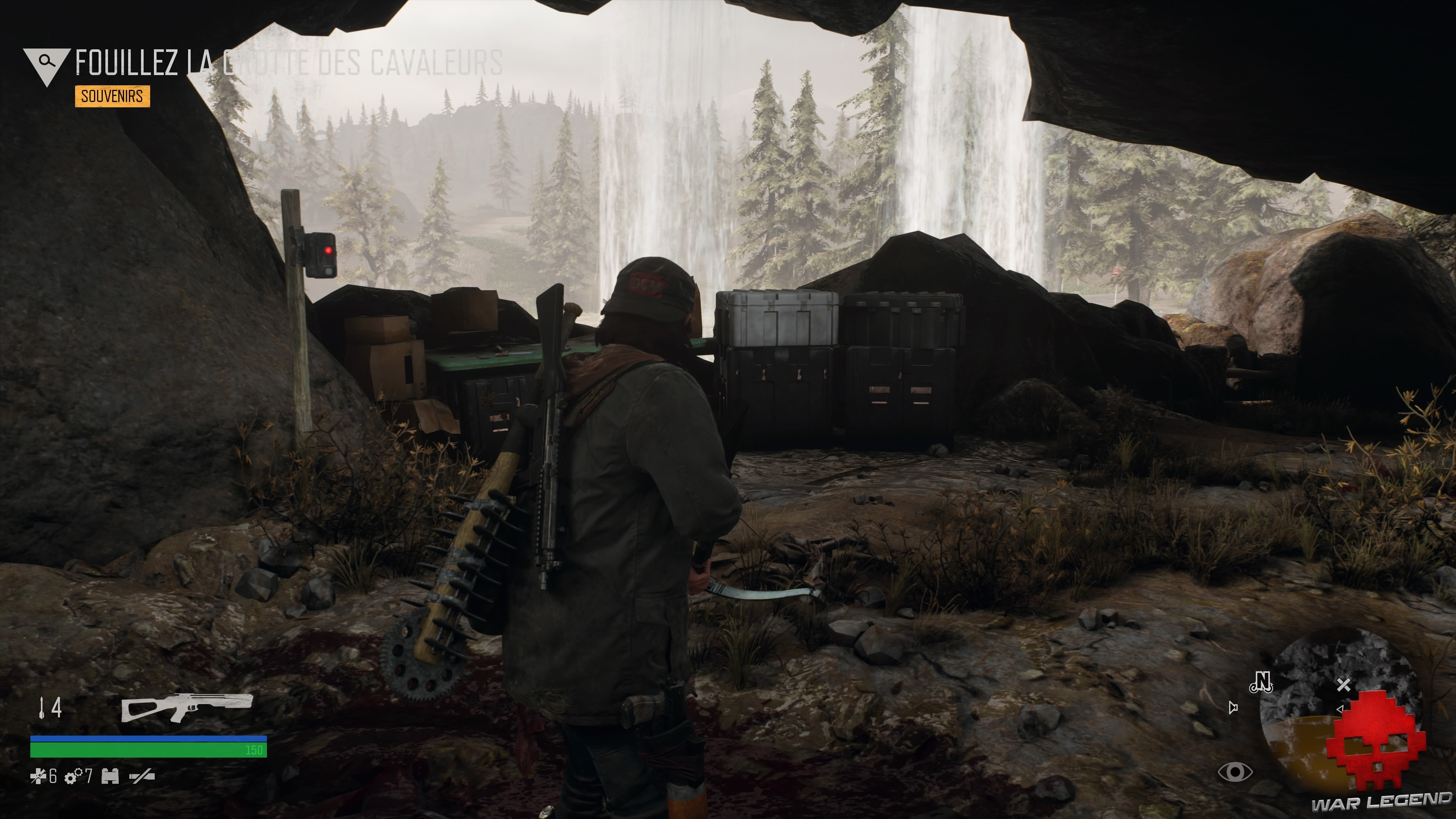 Test Days Gone - caisse d'injecteur Nero