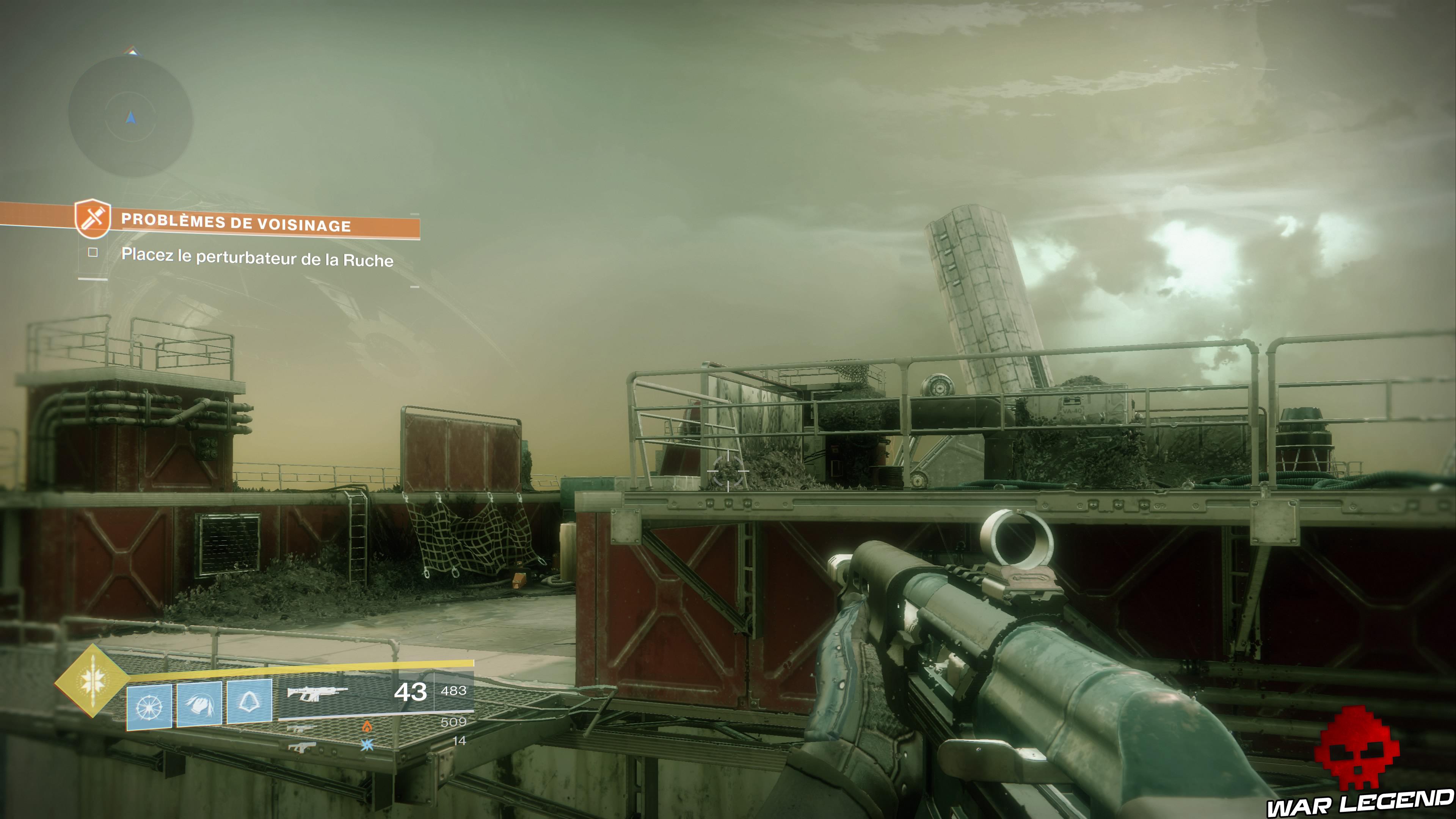 Soluce Destiny 2 - Problèmes de Voisinage