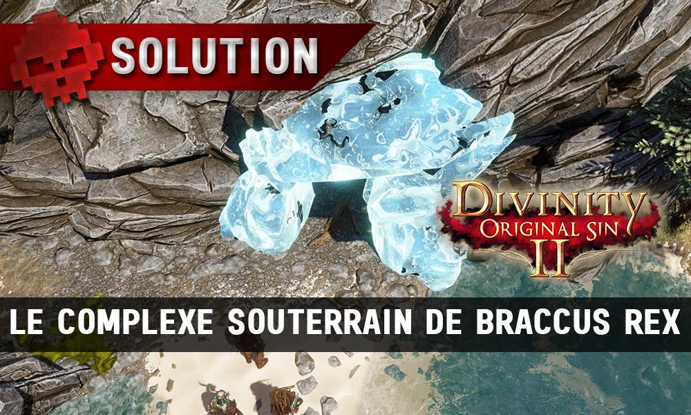 Soluce Divinity: Original Sin 2 - Le Complexe Souterrain de Braccus Rex