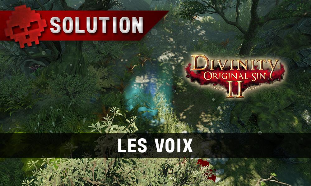 Soluce Divinity: Original Sin 2 - Les Voix