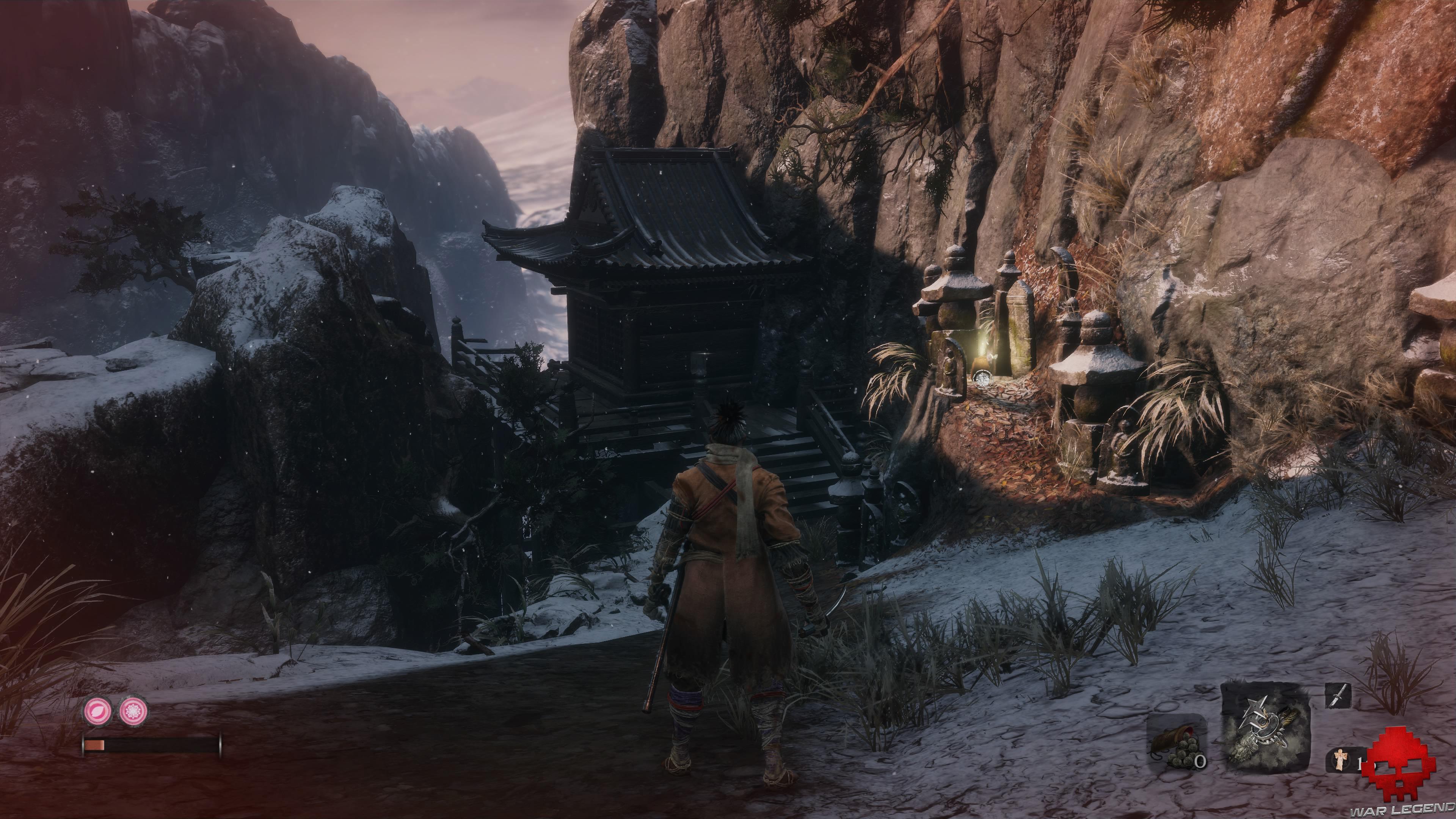 Soluce Sekiro les alentours d'ashina temple