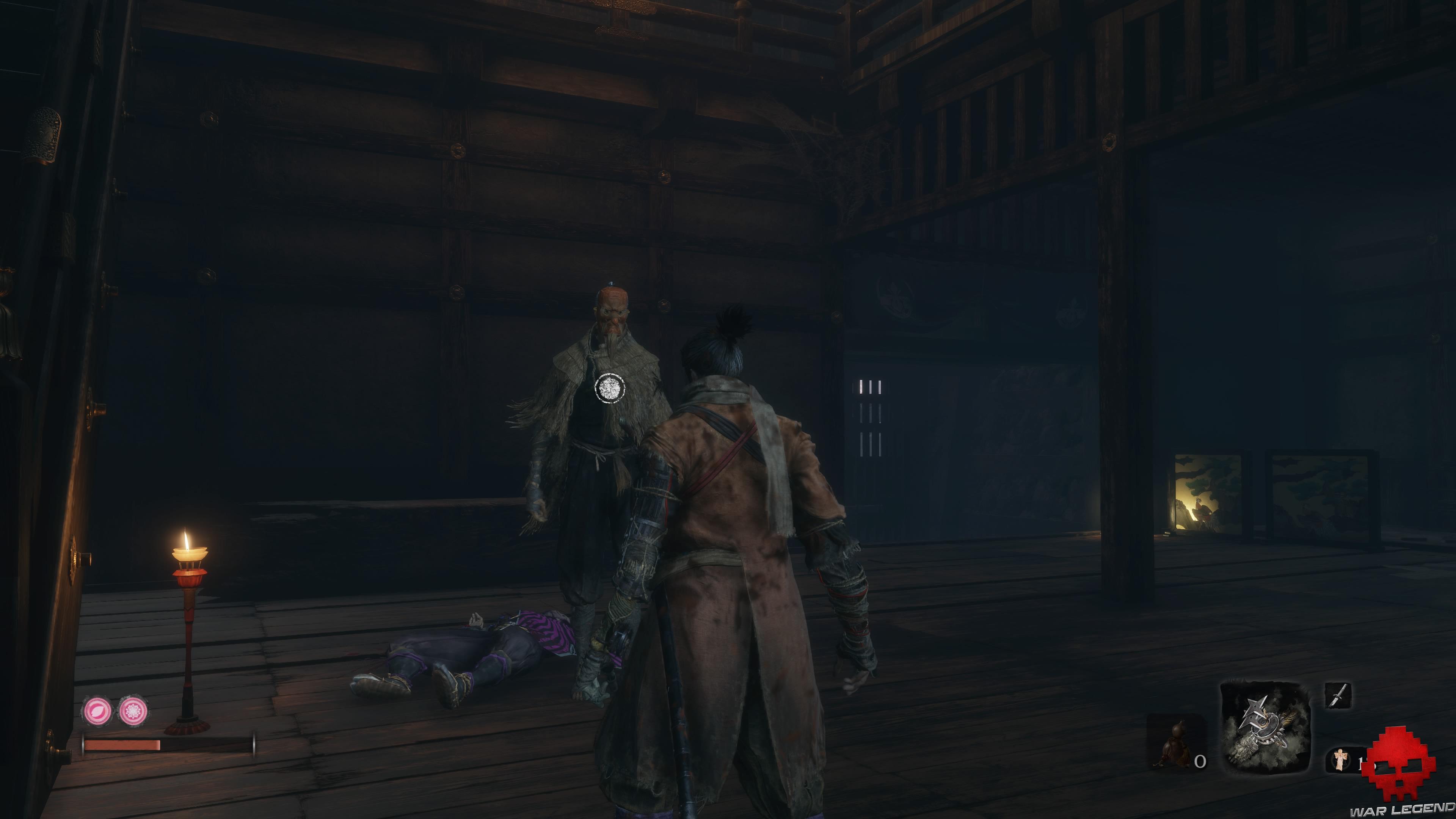 Soluce Sekiro les alentours d'ashina tengu
