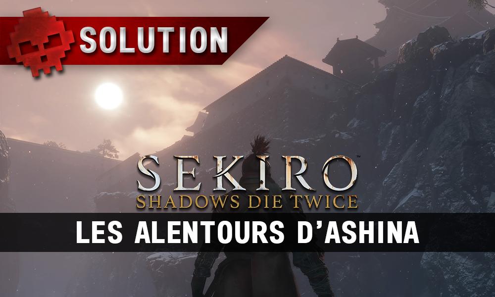 Soluce Sekiro Les Alentours d'Ashina vignette