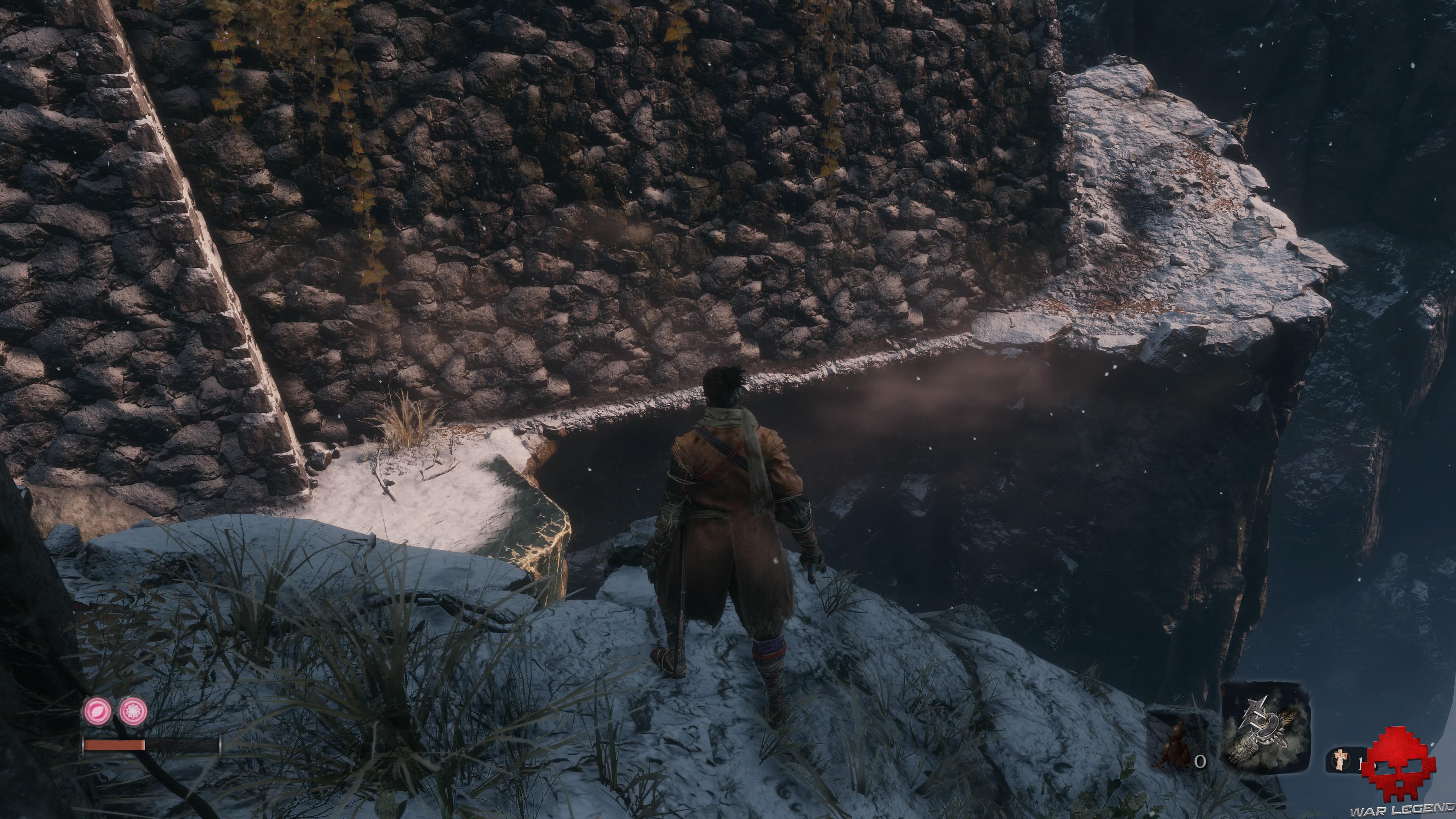 Soluce Sekiro les alentours d'ashina partie 1 passage ras du mur