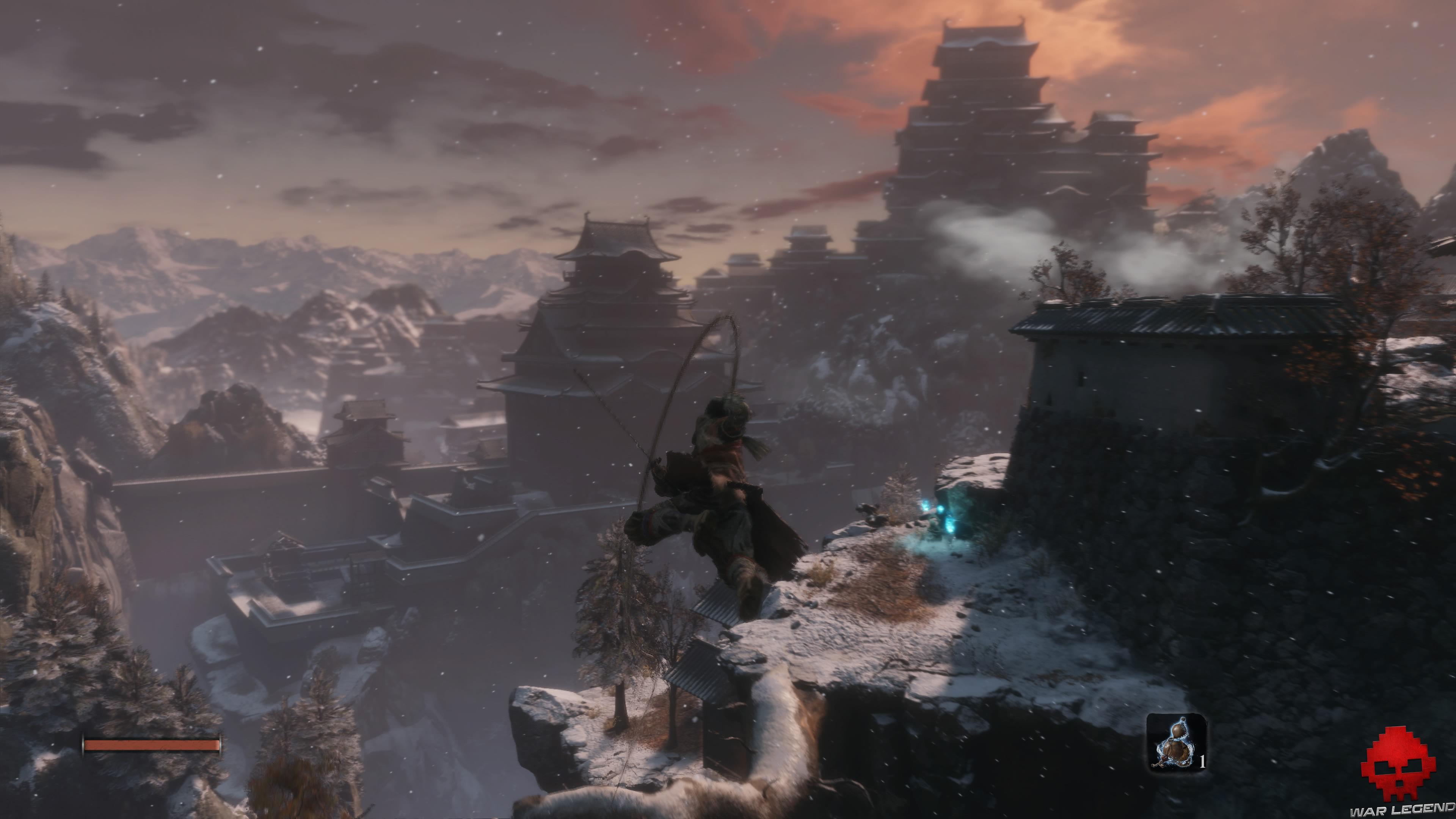 Soluce Sekiro les alentours d'ashina partie 1 saut de grappin