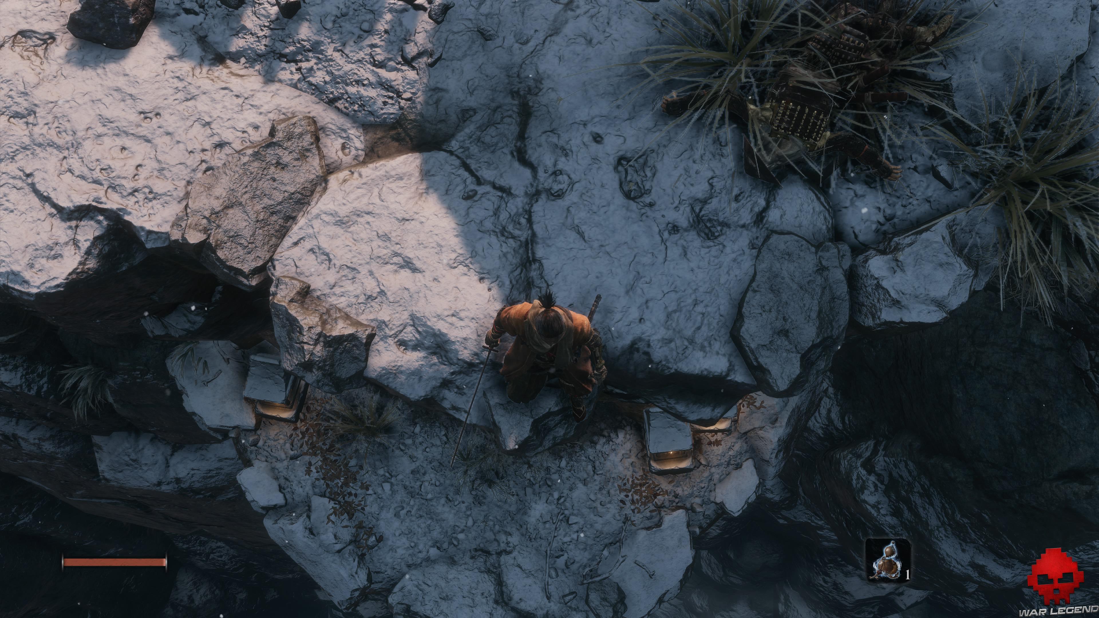 Soluce Sekiro les alentours d'ashina partie 1 escarpement caché