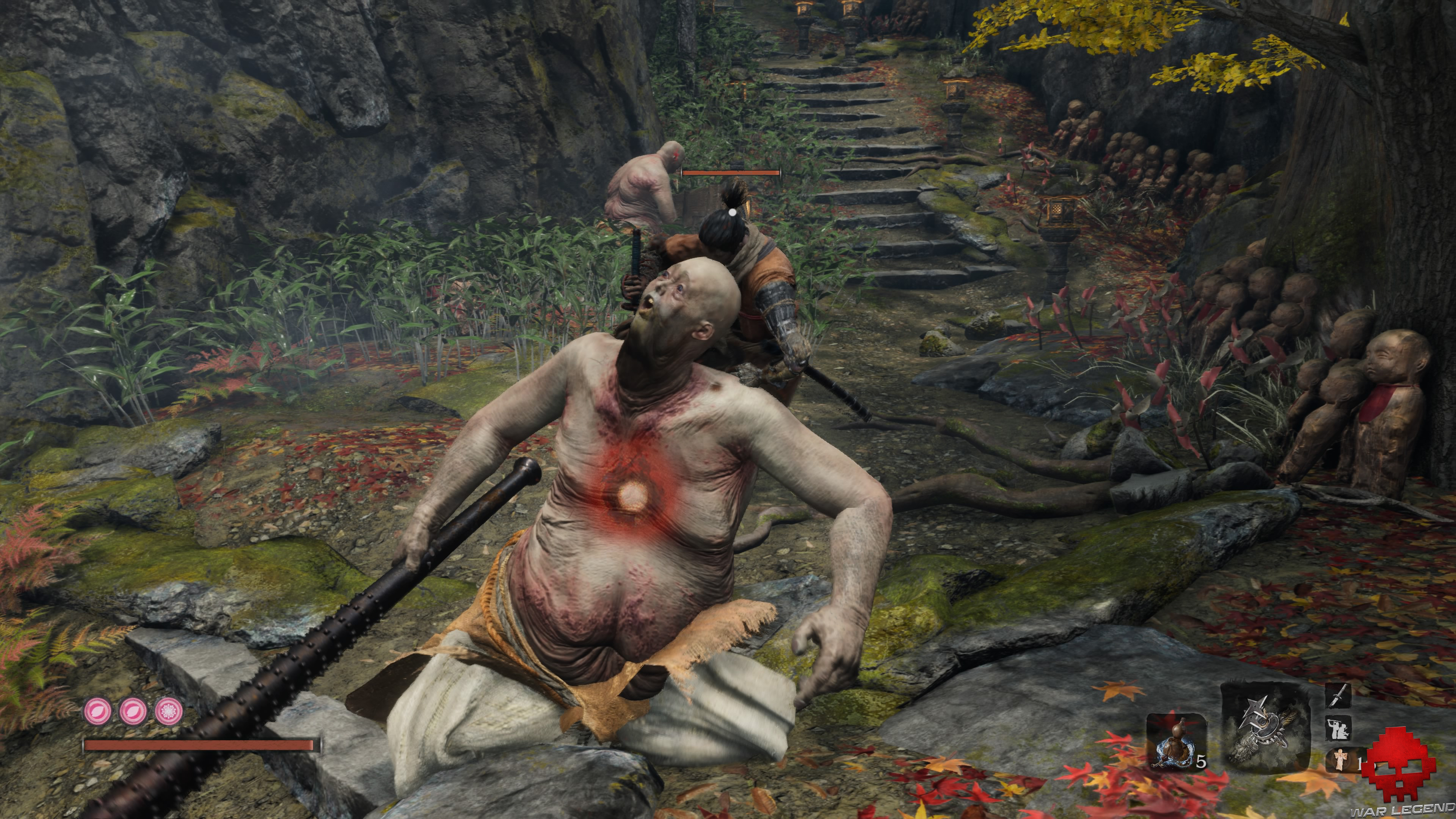 Test Sekiro temple senpo mont kongo assassinat