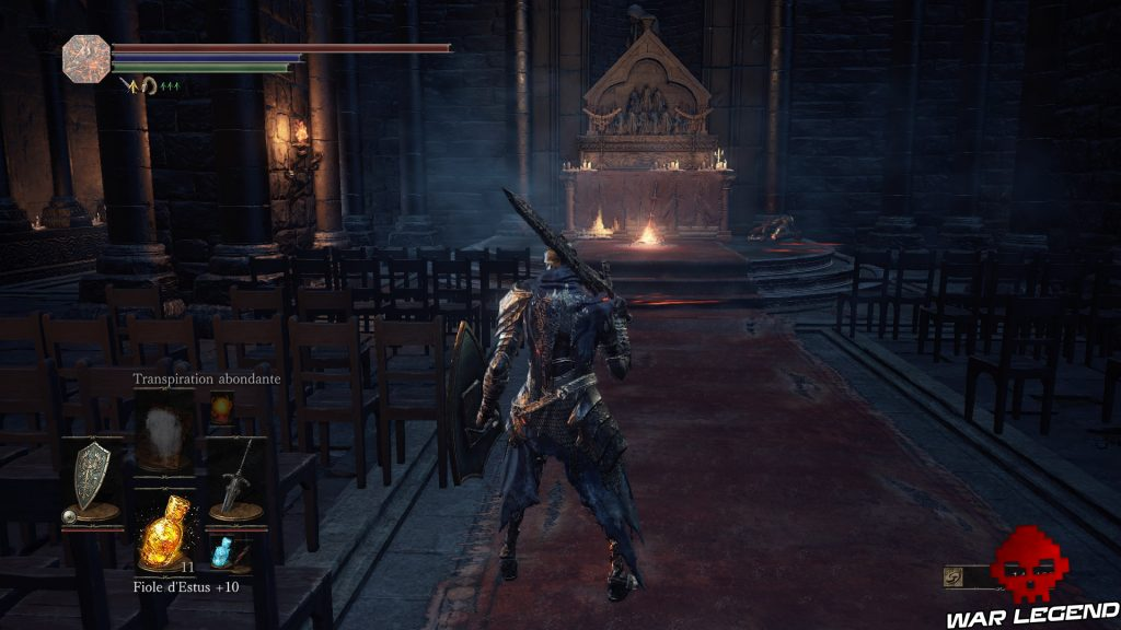Solution Dark Souls 3 Ashes of Ariandel Partie 1