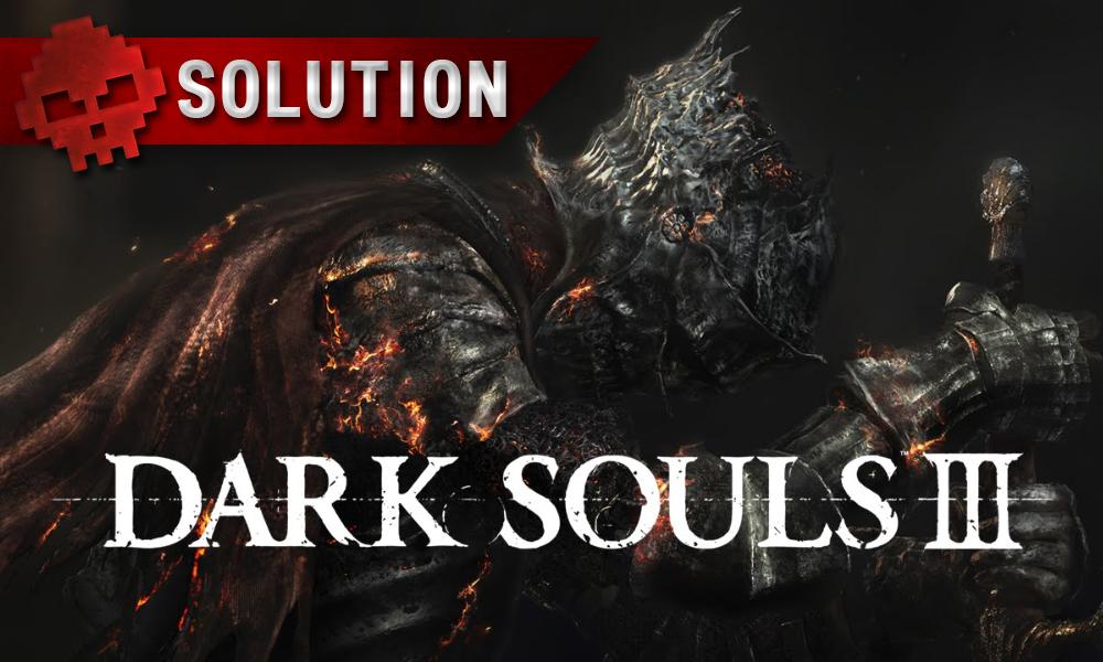 Solution Dark Souls 3 War Legend