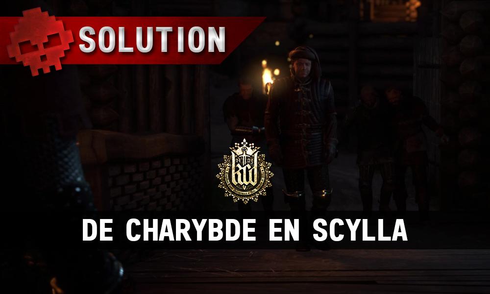 Solution Kingdom Come De Charybde en Scylla vignette