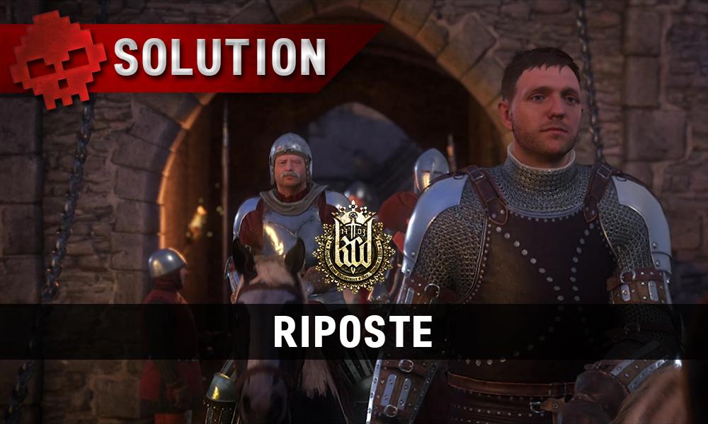 Solution Kingdom Come Deliverance Riposte Vignette
