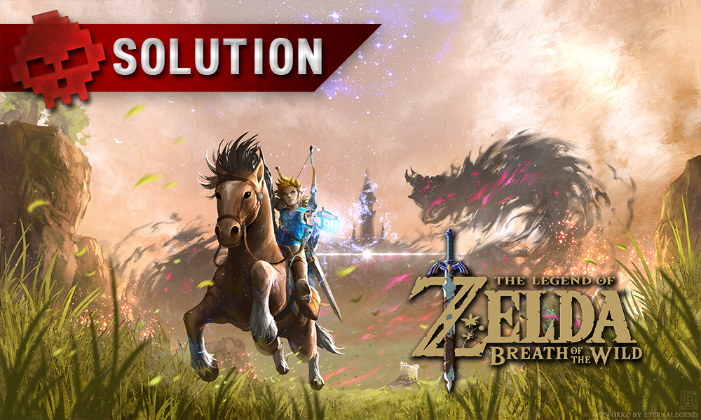 Soluce complète de Zelda Breath of the Wild