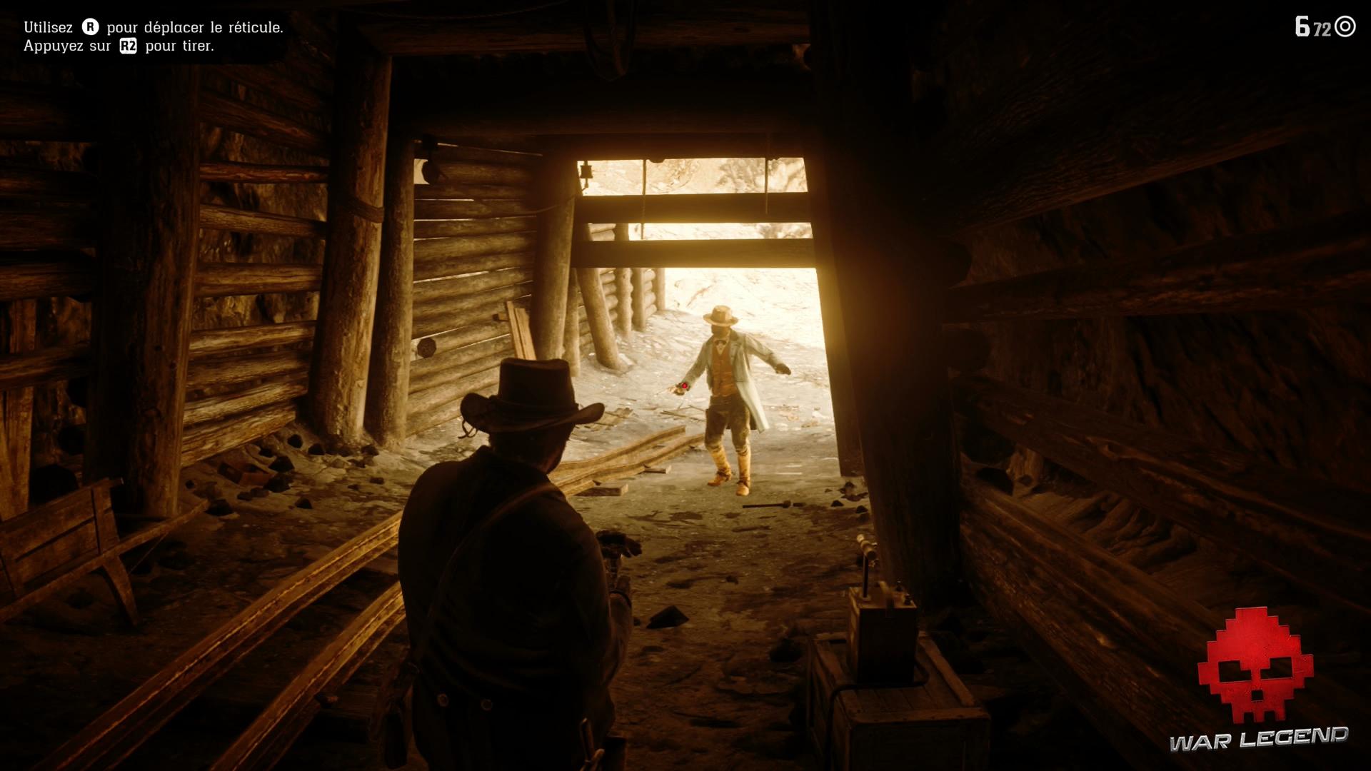 Soluce Red Dead Redemption 2 Joshua Brown Arthur et Joshua font un duel