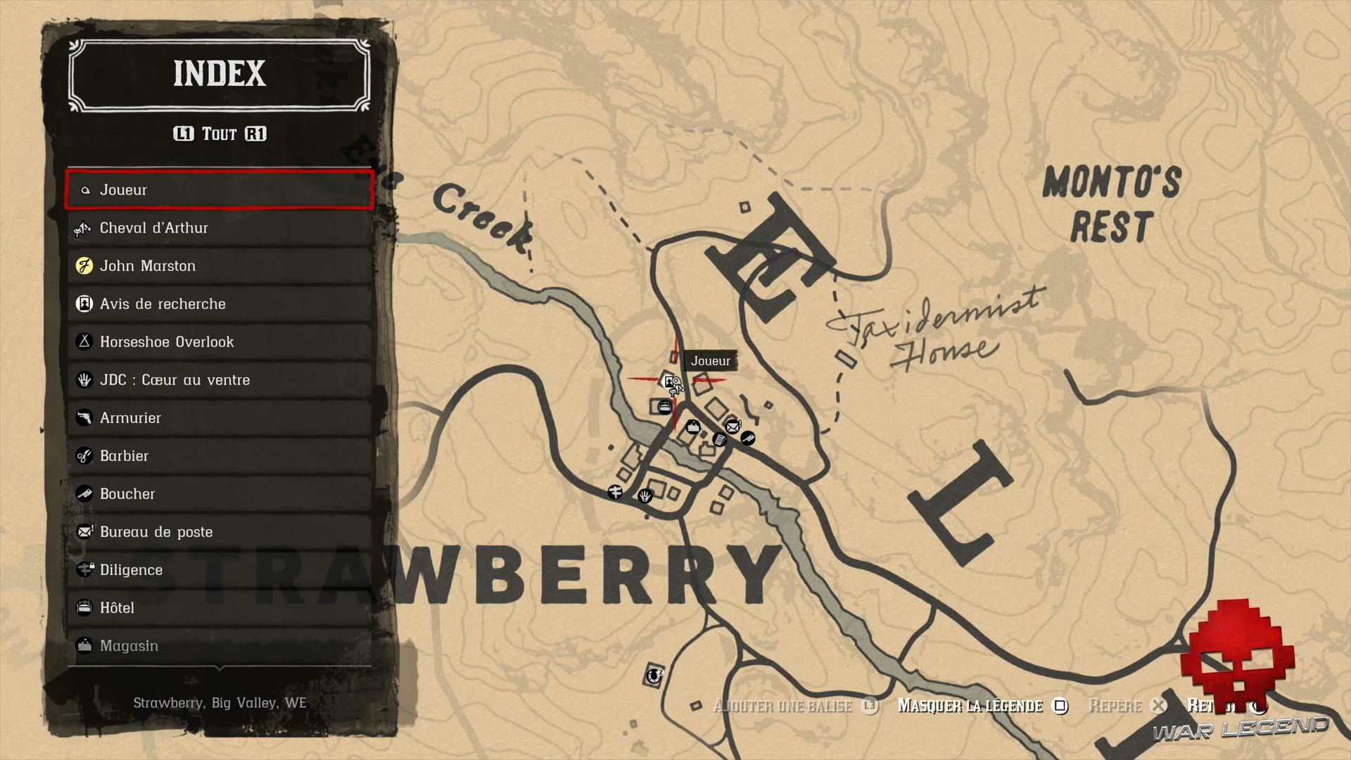 Soluce Red Dead Redemption 2 Joshua Brown emplacement de l'avis de recherche