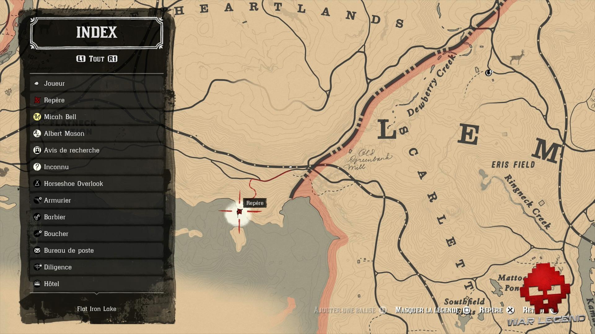Soluce Red Dead Redemption 2 Pêcheur de poissons emplacement du début de la mission