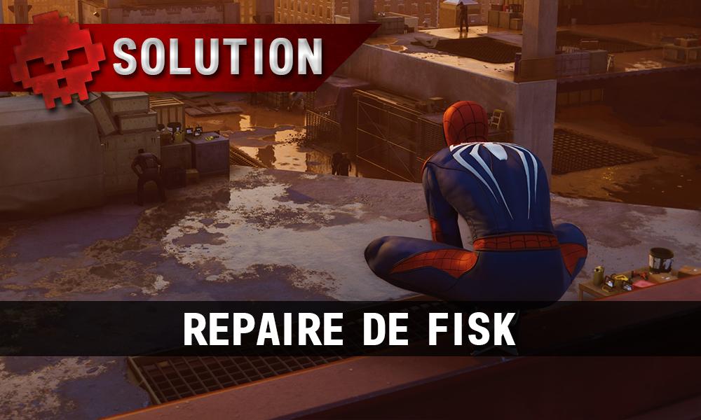 Vignette Solution Spider-Man Repaire de Fisk
