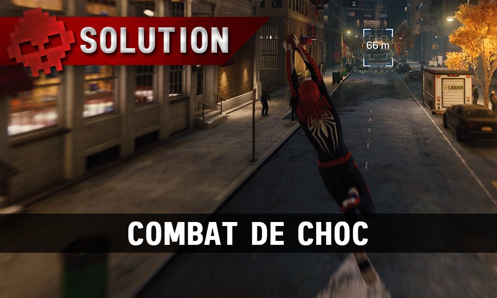 Vignette Solution Spider-Man Combat de Choc