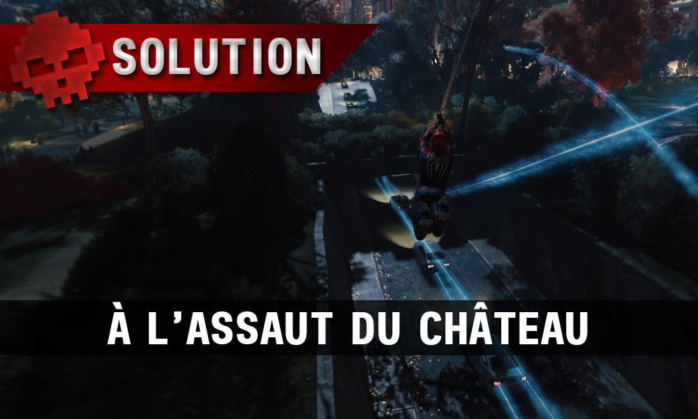 Vignette Solution Spider-Man À l'assaut du château