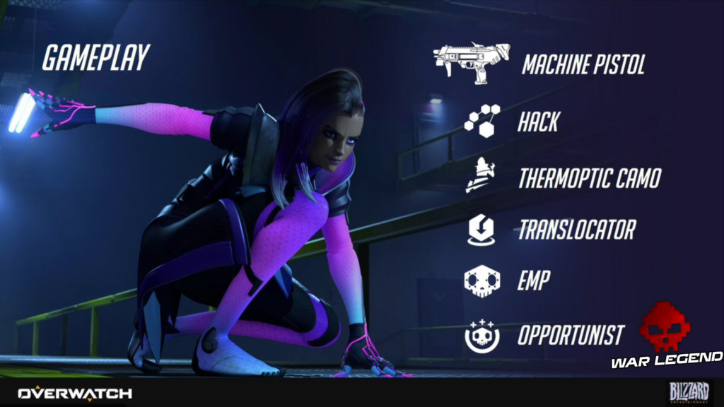 Overwatch - Sombra officialisée