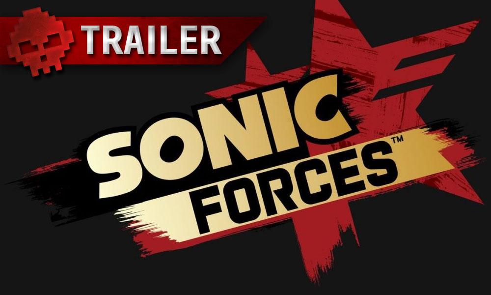 Sonic Forces - Créez votre héros et foncez à toute allure avec un trailer
