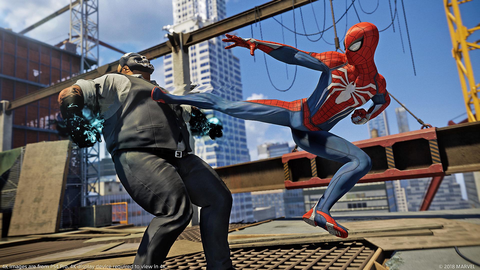 Spider-Man PS4 Démons Intérieurs