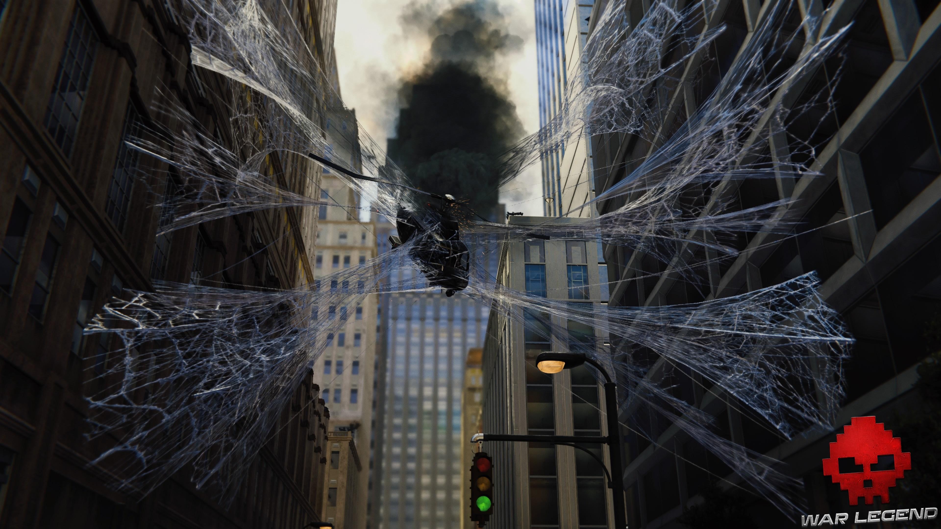 Vignette solution spider-man le feu aux poudres l'hélicoptère est piégé
