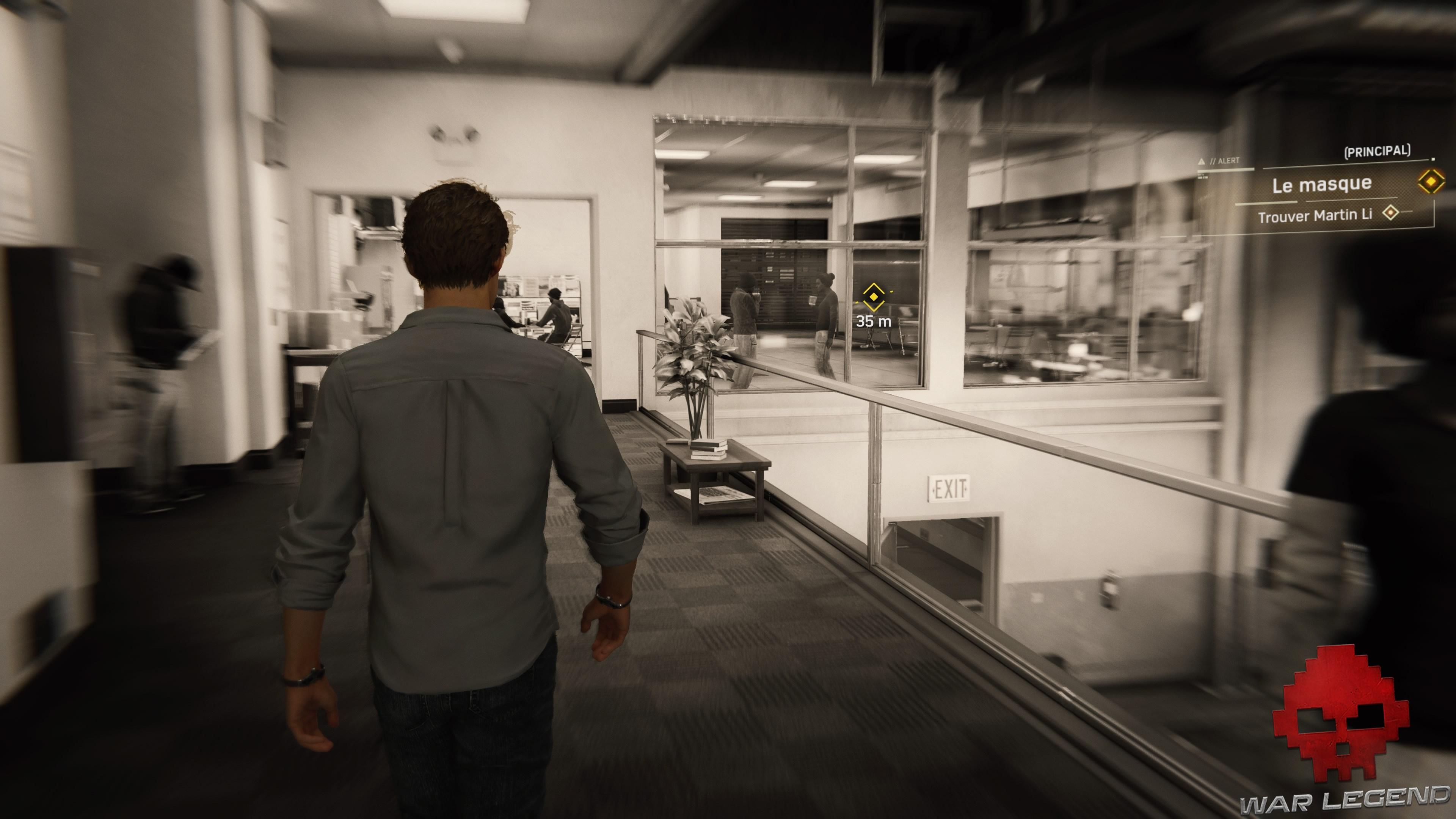 Peter Parker se rend à l'objectif
