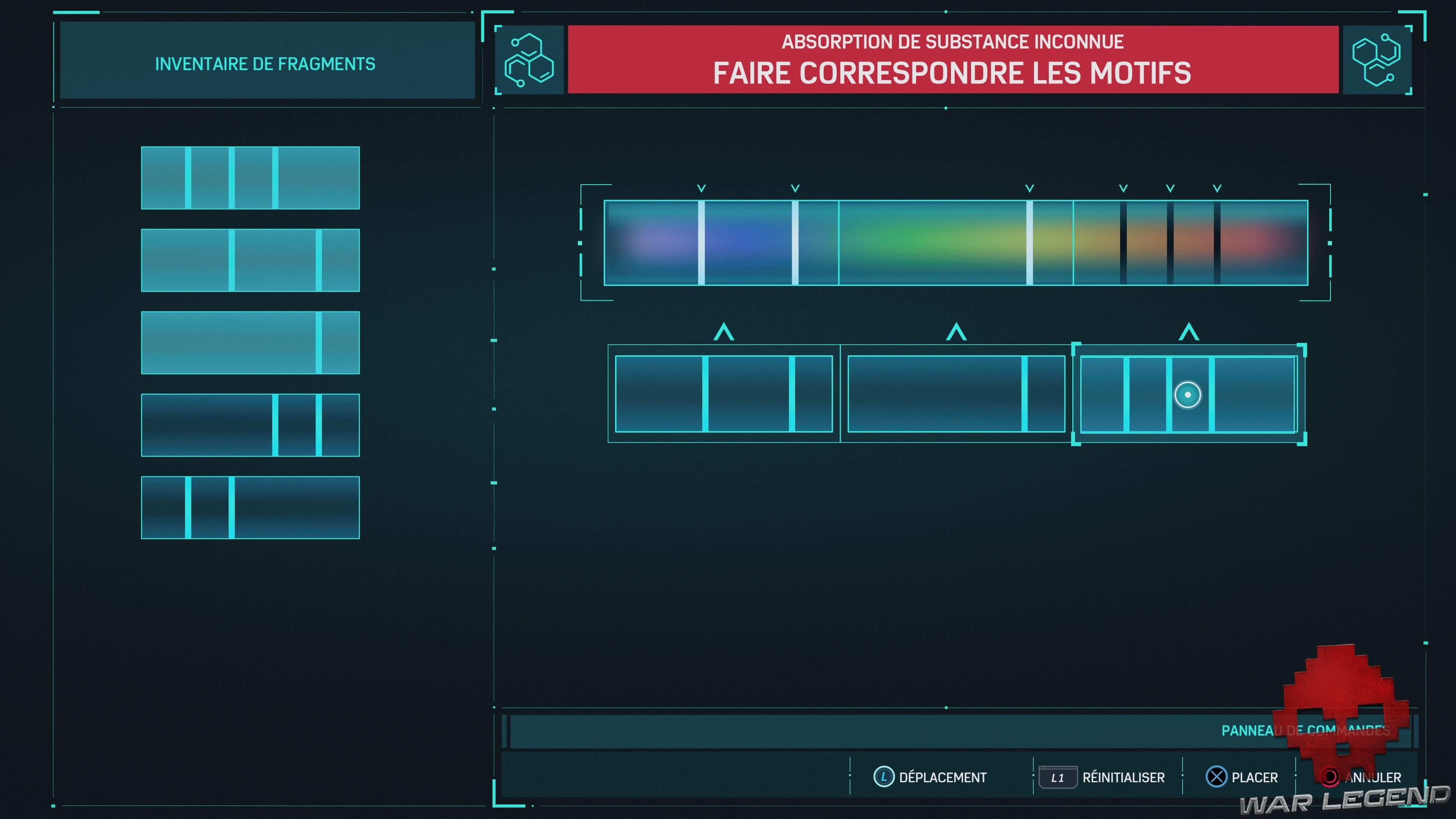 Le mini-jeu du spectrographe