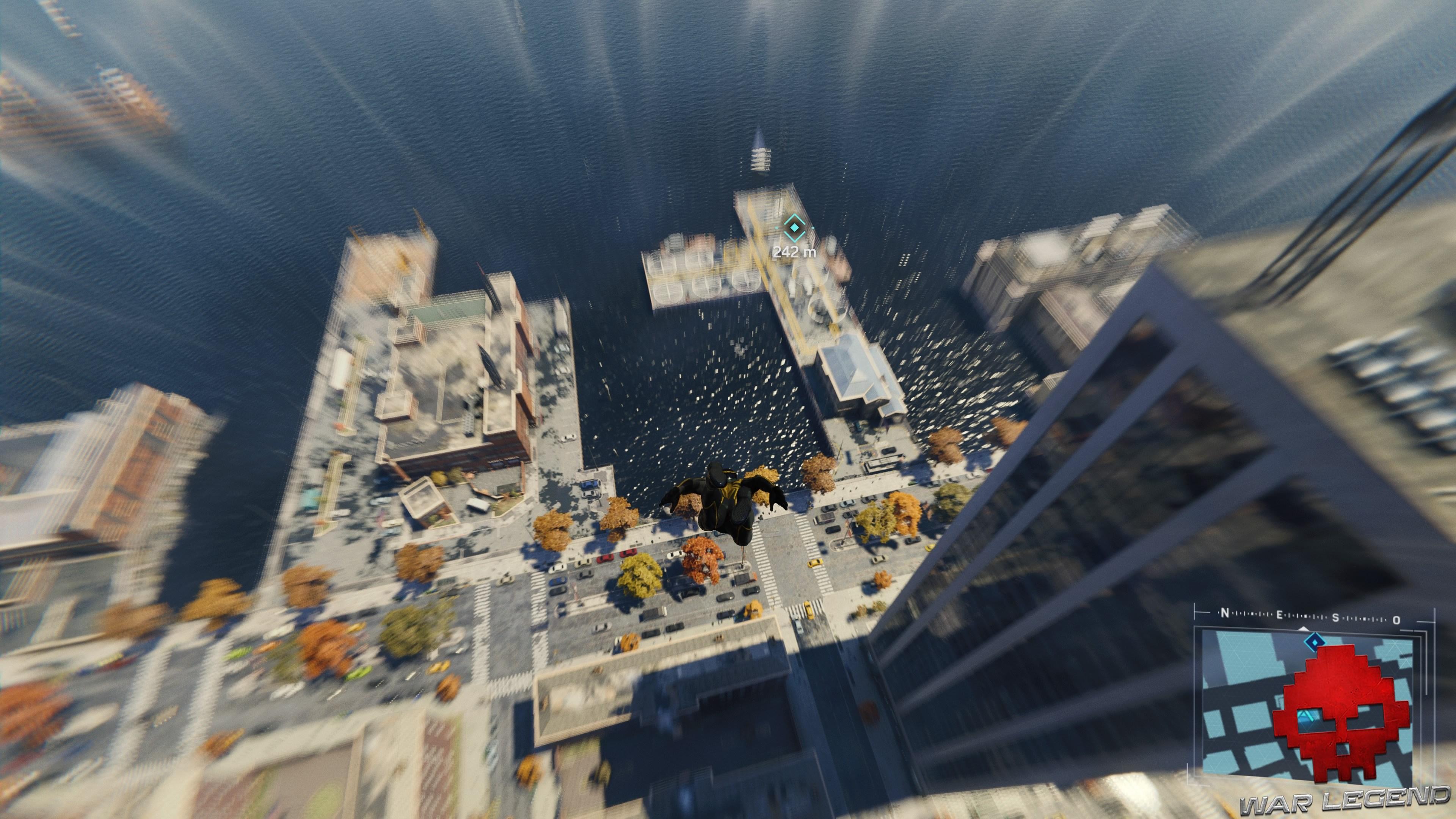 solution spider-man réseau en panne au dessus des docks