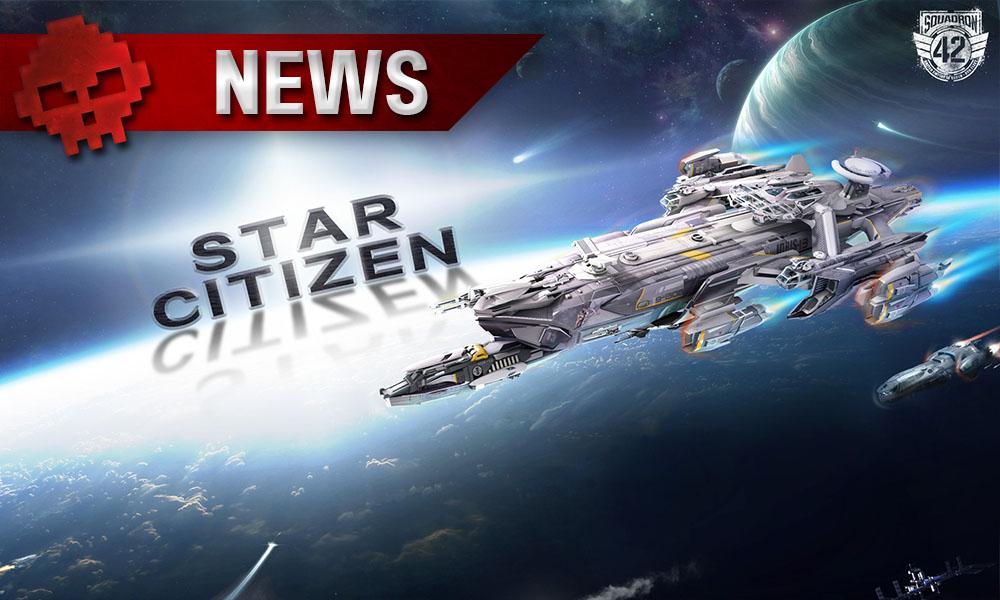 Star Citizen - Le moteur graphique d'Amazon remplace le CryEngine - Vaisseau spatial