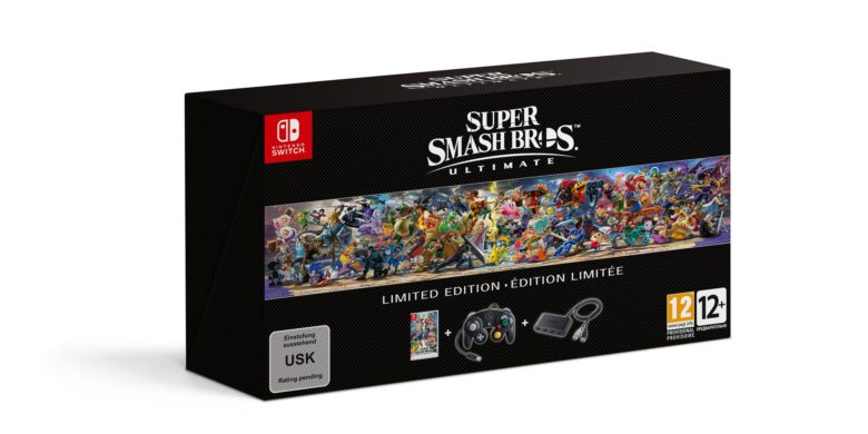 L'édition limitée de Super Smash Bros. Ultimate