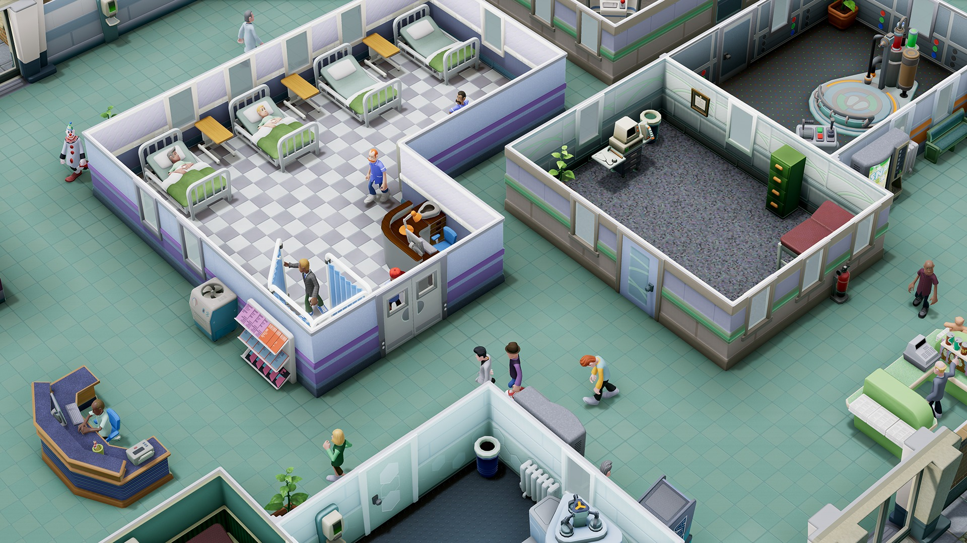 two point hospital un nouveau jeu de gestion en milieu hospitalier par les cr ateurs de theme. Black Bedroom Furniture Sets. Home Design Ideas