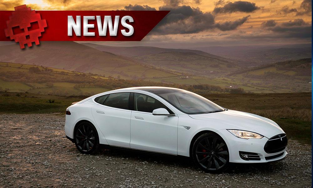 Elon Musk promet des Superchargers encore plus rapides - voiture de sport blanche sur la route