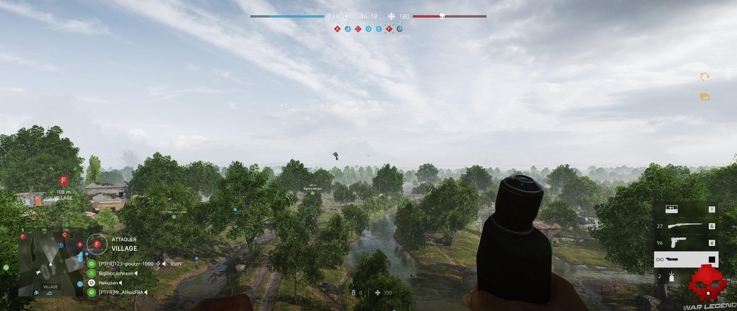 Test Battlefield V - Soldat volant dans les airs