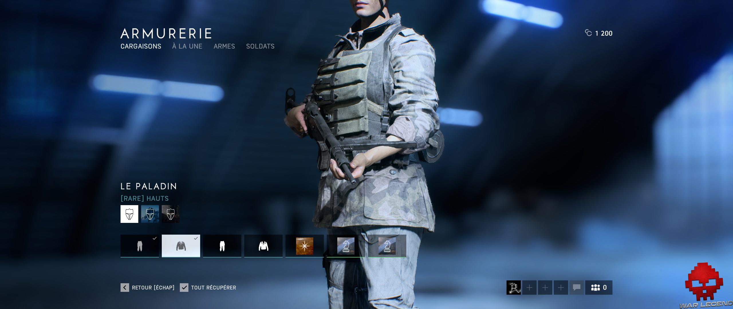 Test Battlefield V - Uniforme teinte maronnée