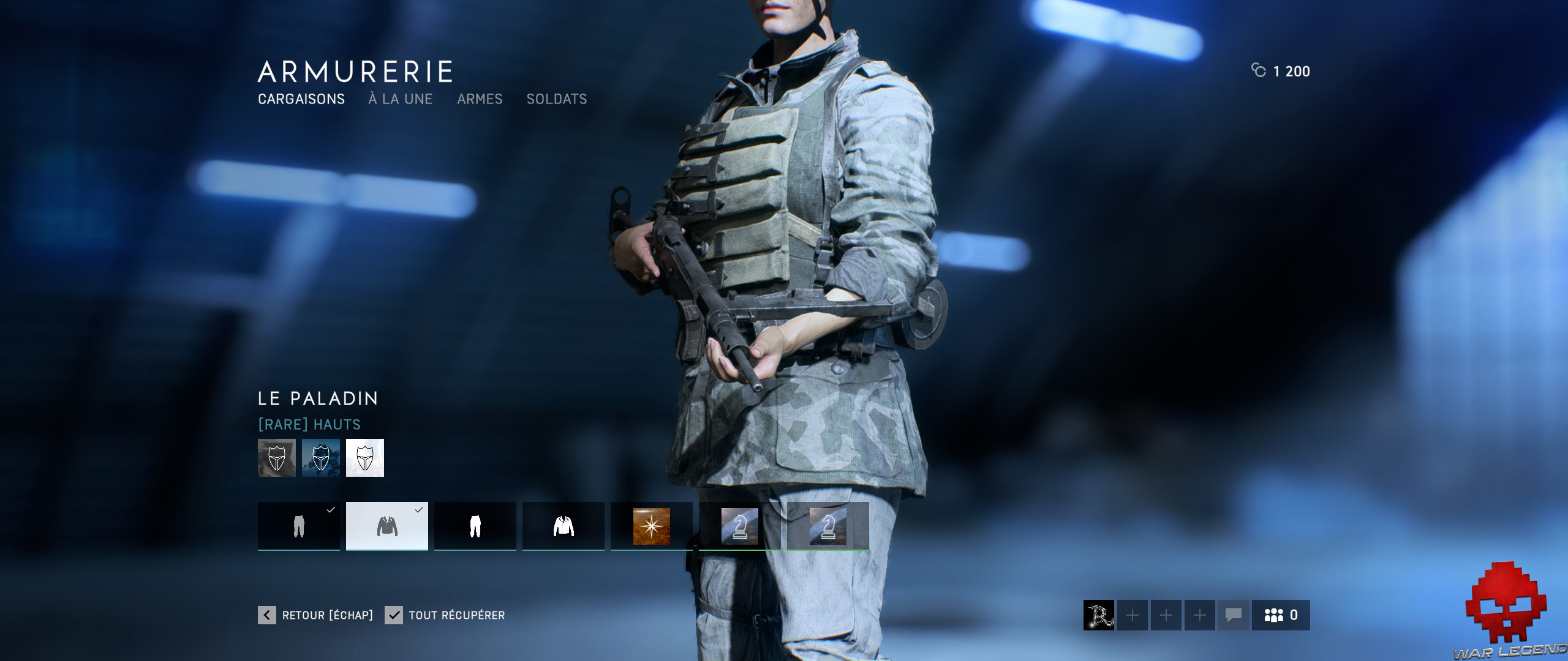 Test Battlefield V - Uniforme verdâtre