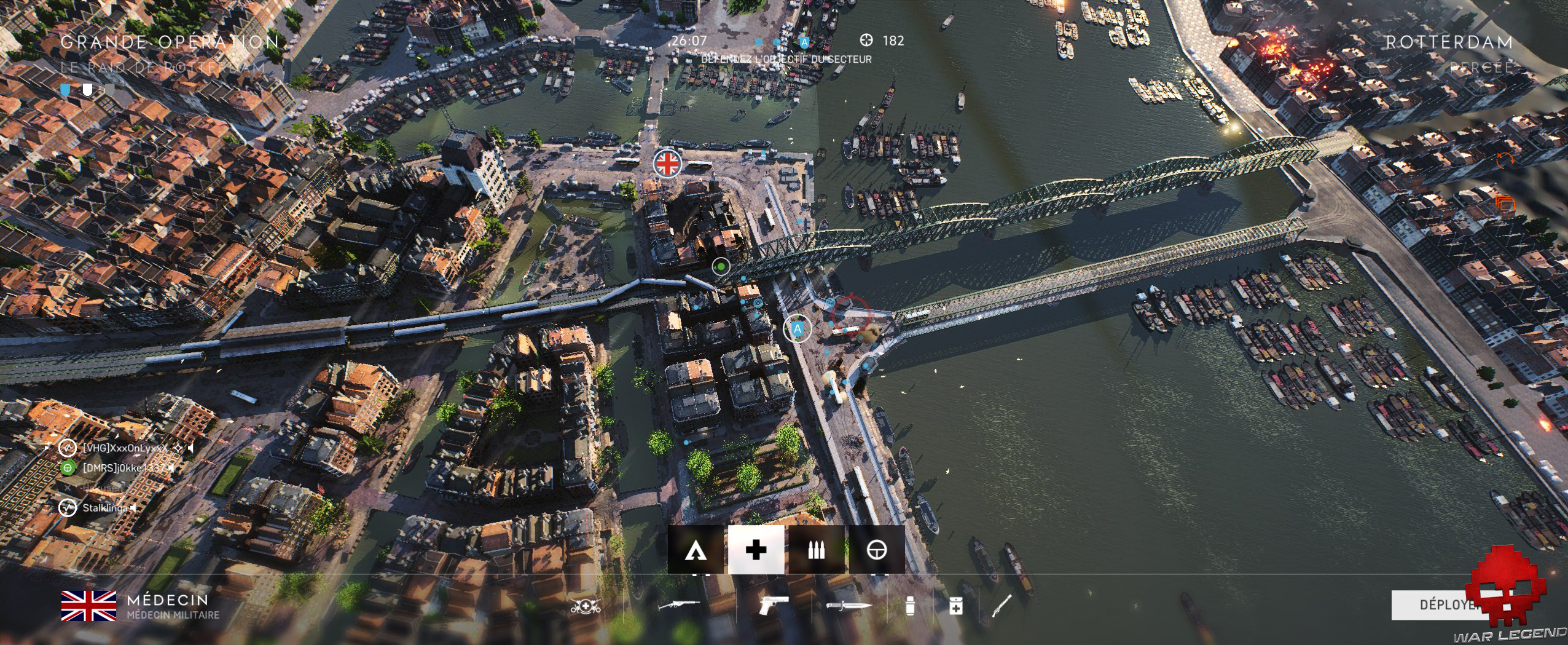 Test Battlefield V - Carte La Percée de Rotterdam durant la Grande Opération