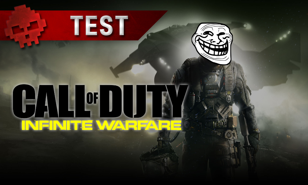 Test Call of Duty: Infinite Warfare soldat troll