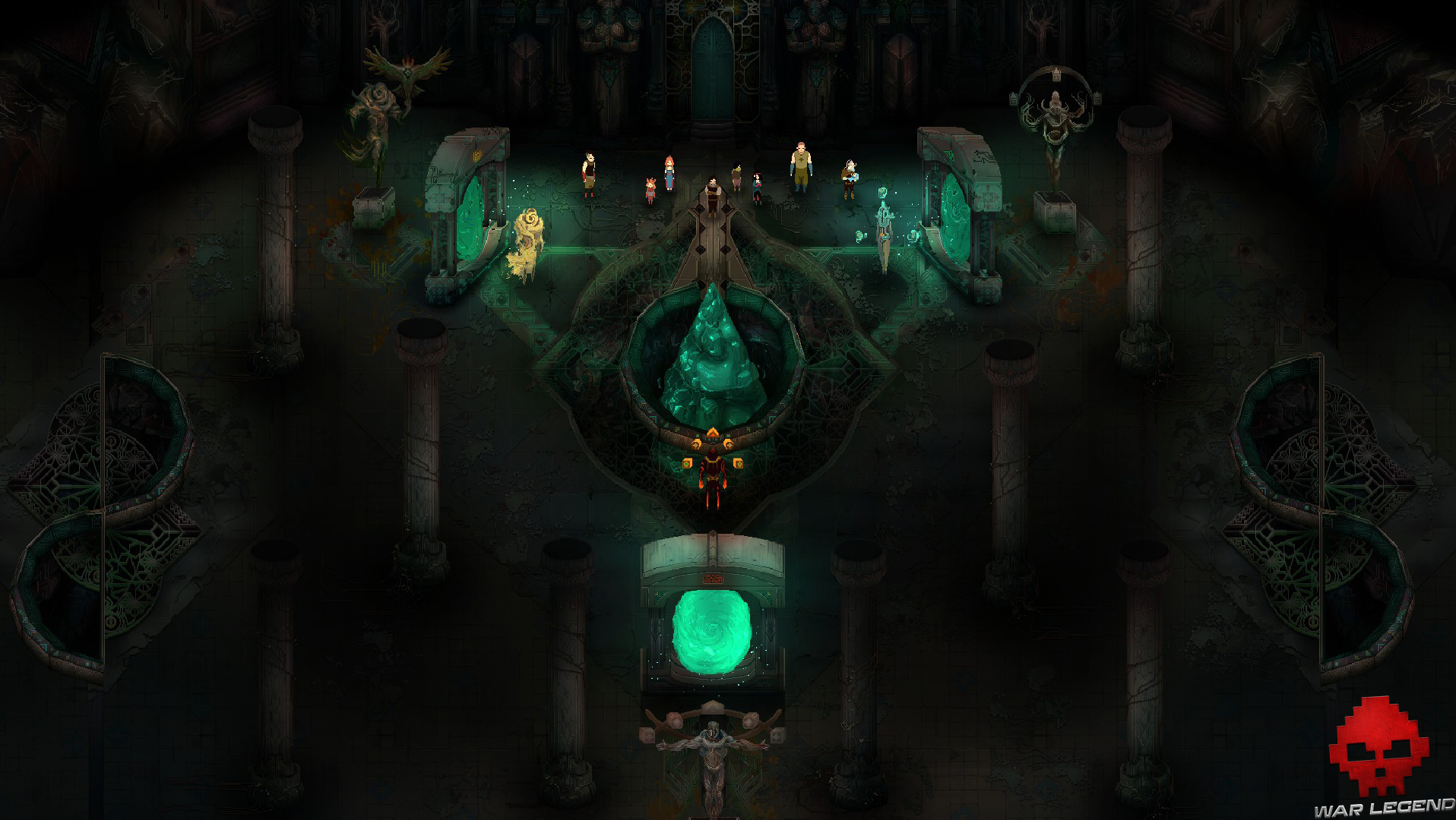 Test Children of Morta - esprits