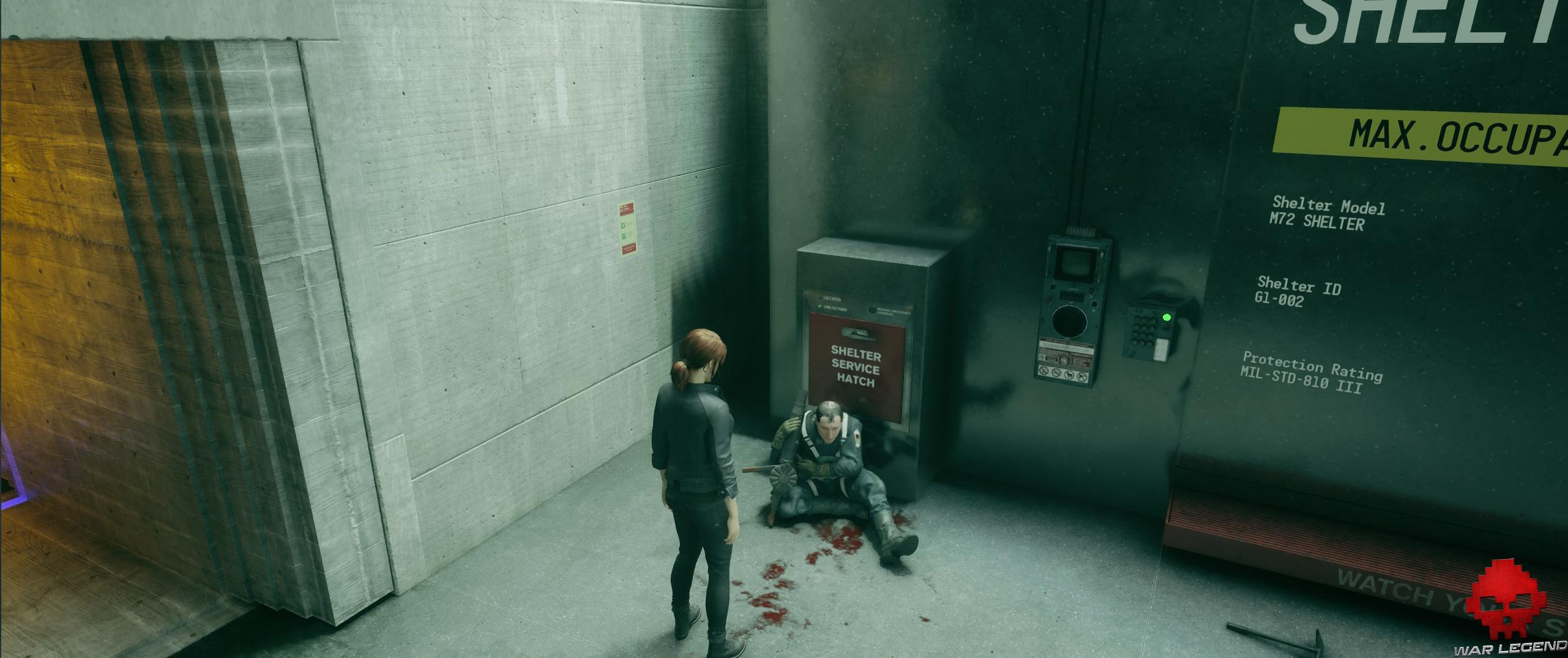 Test Control - Personnage blessé