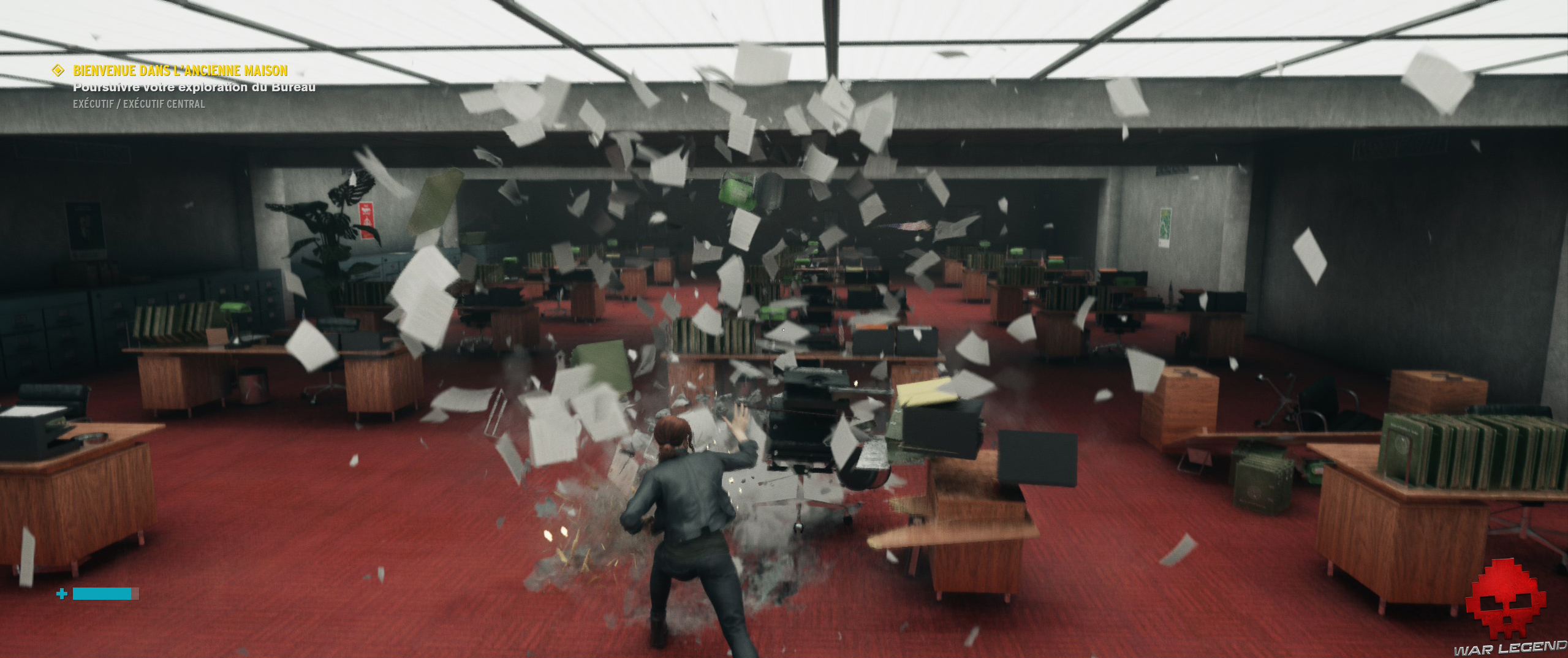 Test Control - explosion de papiers