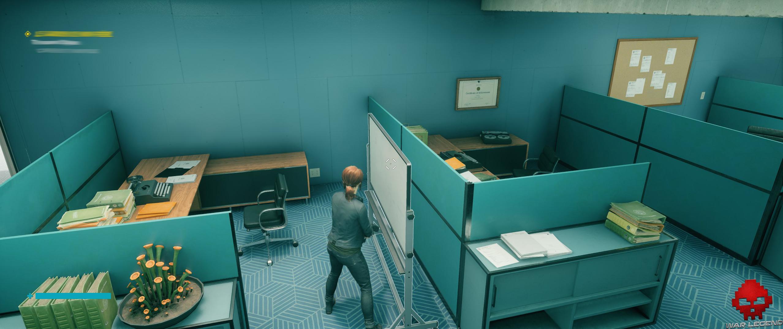 Test Control - bureaux, ombres de contact sans DXR