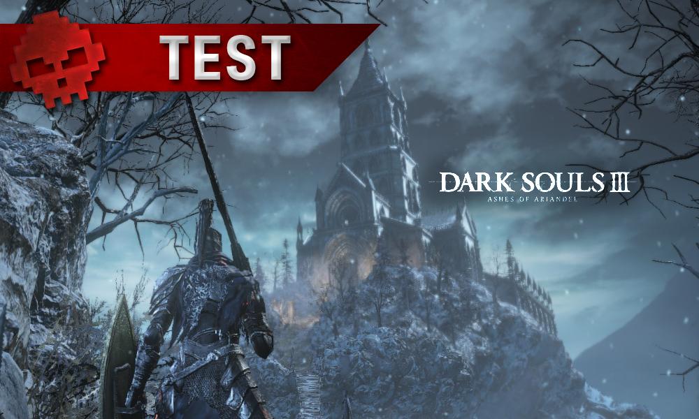 Test Dark Souls 3 Ashes of Ariandel War Legend