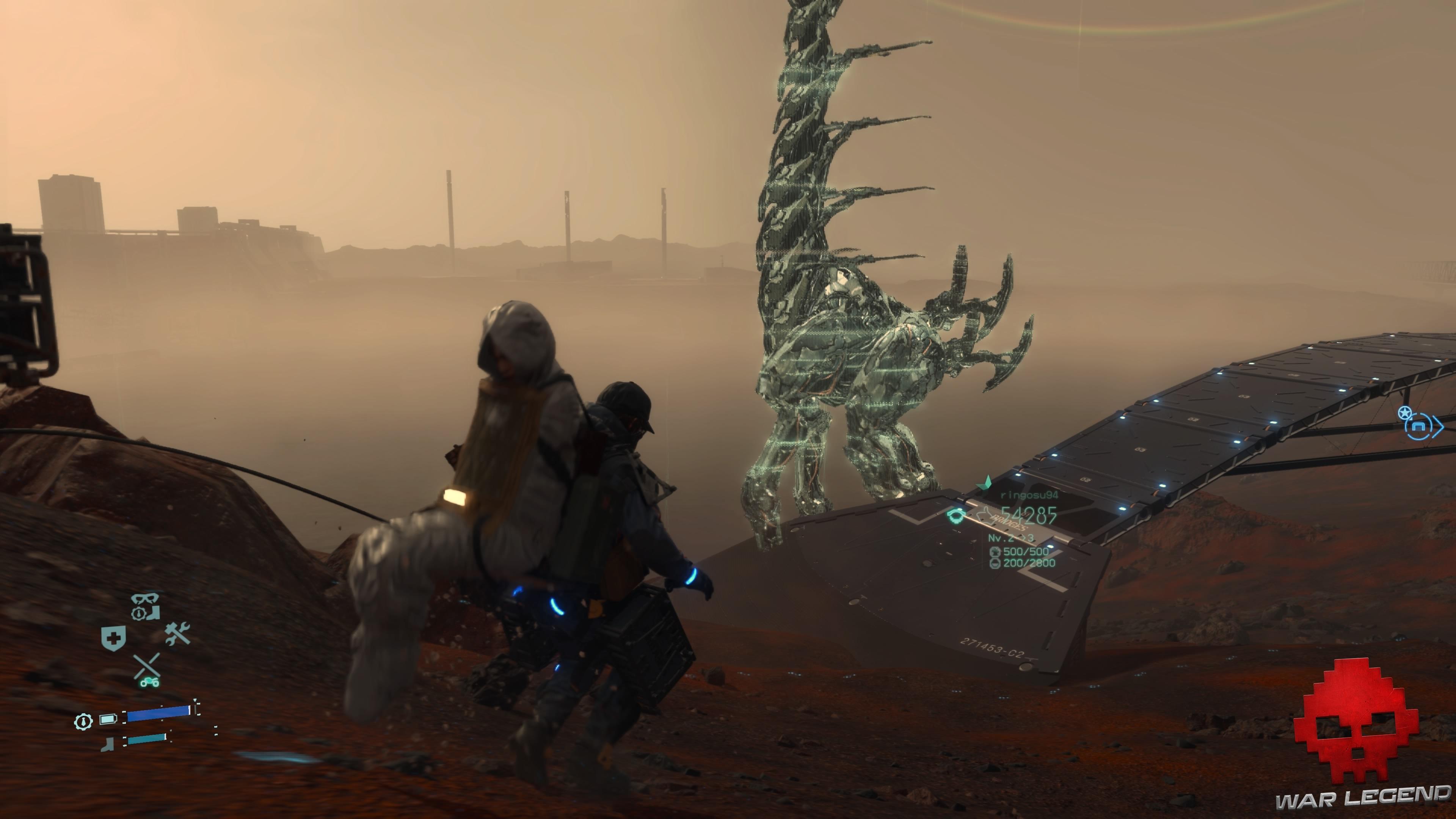 Test Death Stranding - grand-cou d'horizon